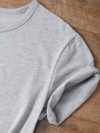 Short Sleeve Delrey 86 Tee - GRAY L Mobile