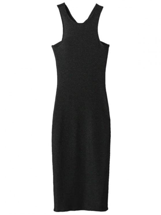 shops Glitter Midi Pencil Dress - BLACK L