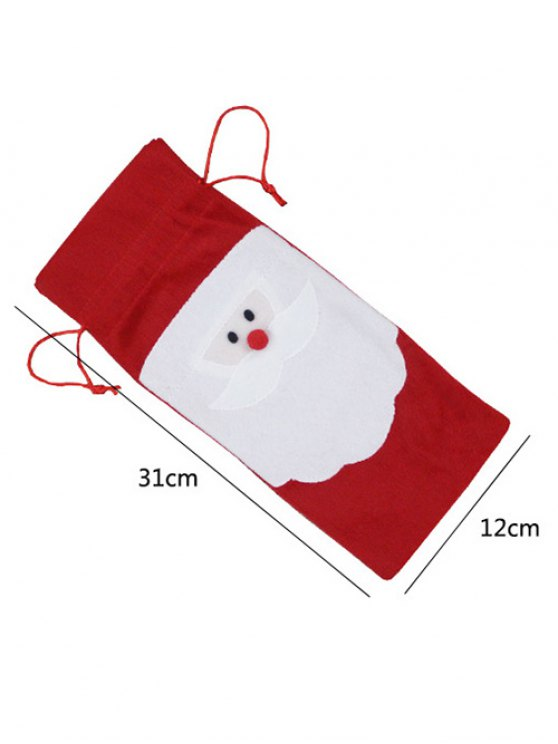 Merry Christmas Santa Pattern Cover Bag -   Mobile