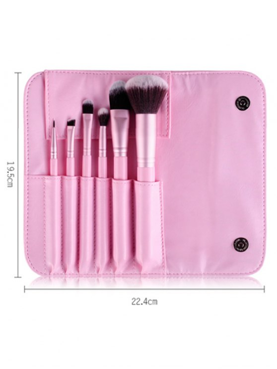Facial Eye Makeup Brushes Kit - PINK  Mobile