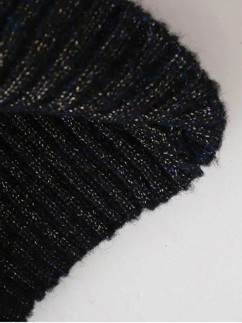 hot Tight Raglan Sleeve Ribbed Sweater - KHAKI ONE SIZE Mobile