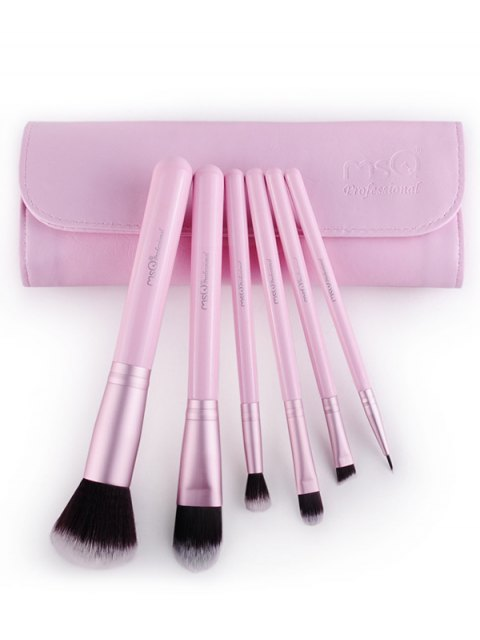 new Facial Eye Makeup Brushes Kit - PINK  Mobile
