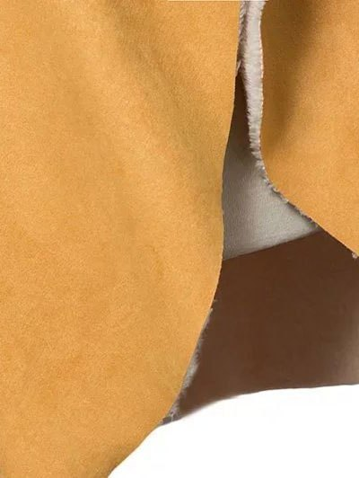 Faux Shearling Shawl Collar Waistcoat - YELLOW M Mobile