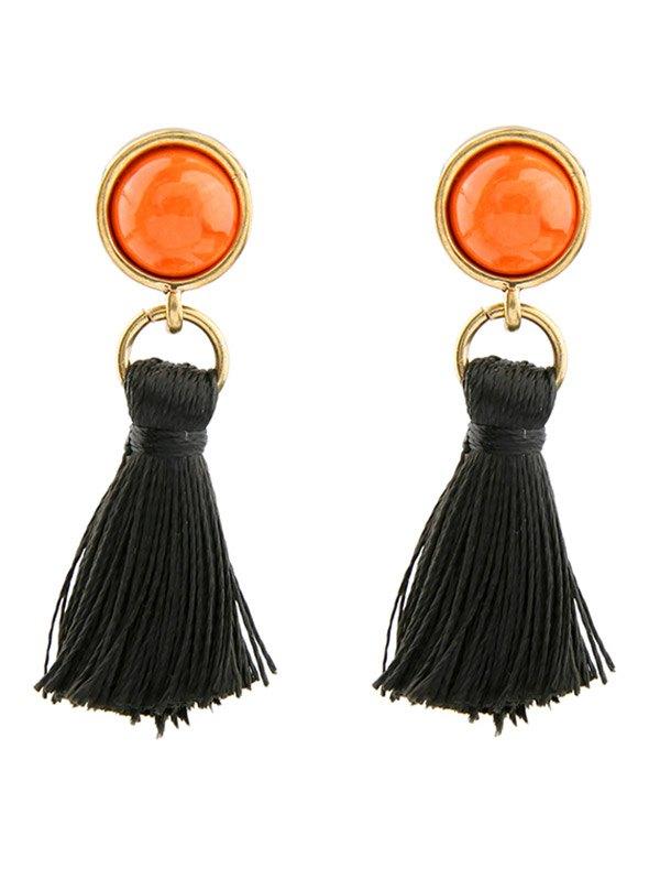 Vintage Tassel Drop Earrings