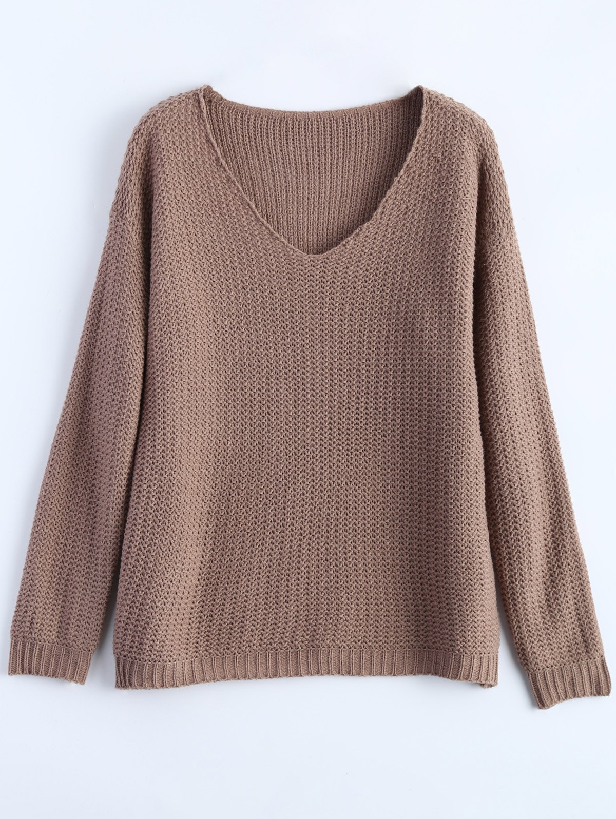 V Neck Basic Sweater