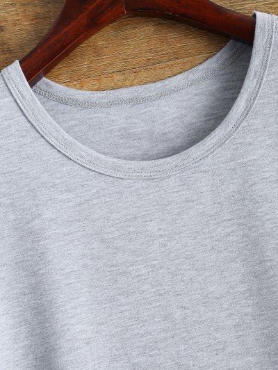 Drake 86 Graphic Tee - GRAY 2XL Mobile