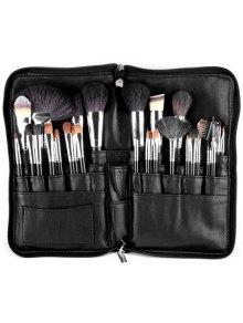 Animal Hair Makeup Brushes Kit