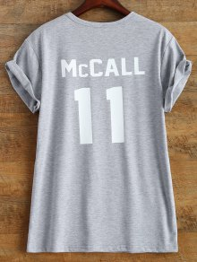 Short Sleeve McCall 11 Boyfriend Tee