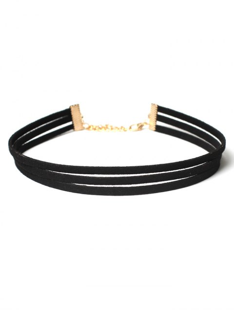 new Choker Necklaces Set - BLACK  Mobile