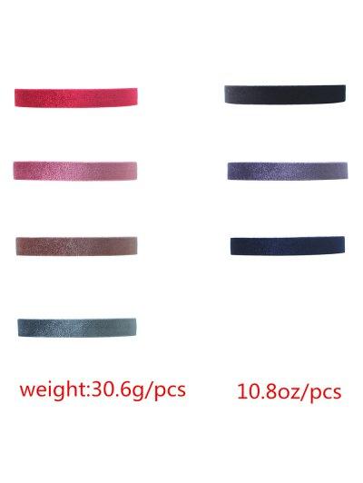 Velvet Choker Necklaces Set - COLORMIX  Mobile
