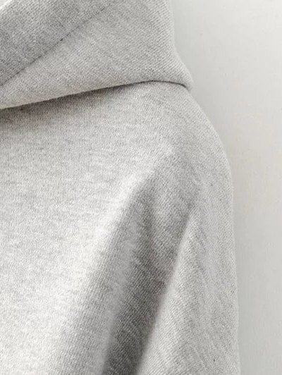 Kangaroo Pocket New York Hoodie - GRAY L Mobile