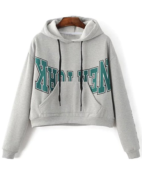 New York Kangaroo Pocket Hoodie