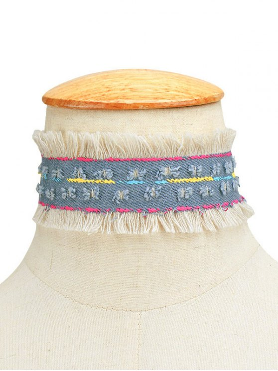 Tassel Vintage Choker Necklace -   Mobile