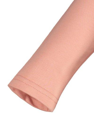 Color Block Raglan Sleeve Casual T-Shirt - WHITE L Mobile