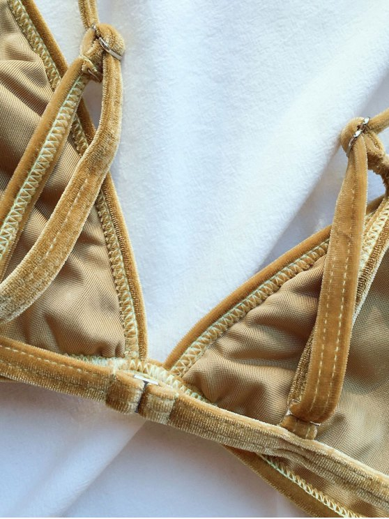 Velvet Reversible Bikini Set - BLONDE #613 XL Mobile