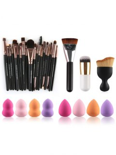 Makeup Brushes And Beauty Blenders