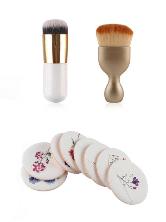 Makeup Brushes + Air Puffs -   Mobile