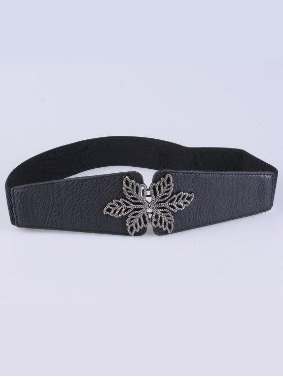 Vintage Floral Elastic Belt -   Mobile