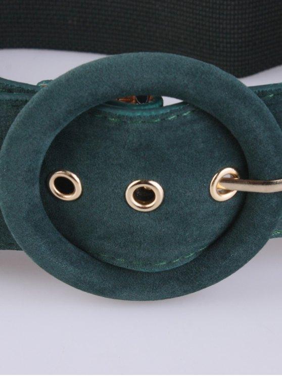 Pin Buckle Elastic Belt - GREEN  Mobile