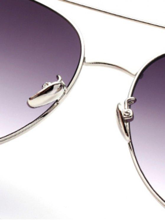 Crossbar Pilot Sunglasses - SILVER  Mobile