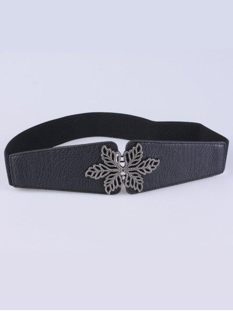chic Vintage Floral Elastic Belt -   Mobile