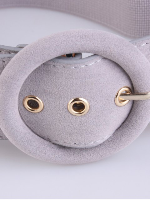lady Pin Buckle Elastic Belt -   Mobile