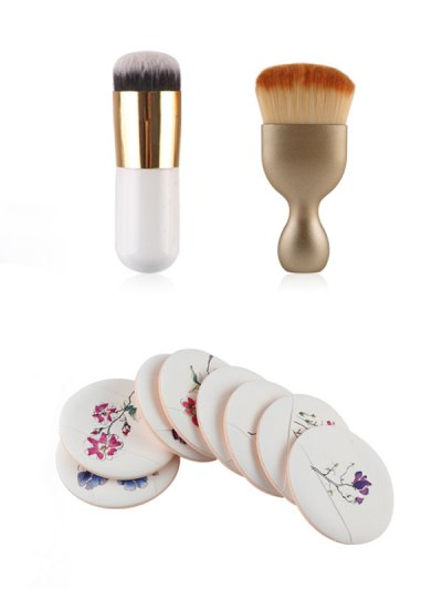 Makeup Brushes + Air Puffs - COMPLEXION  Mobile