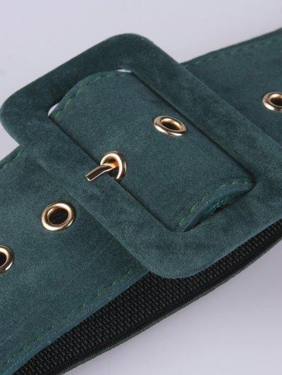 Wide Elastic Belt - GREEN  Mobile
