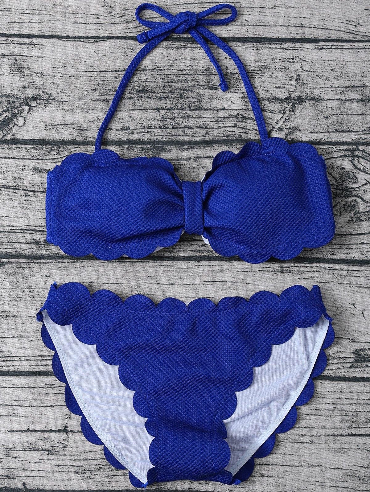 Halter Three Piece Swimwear
