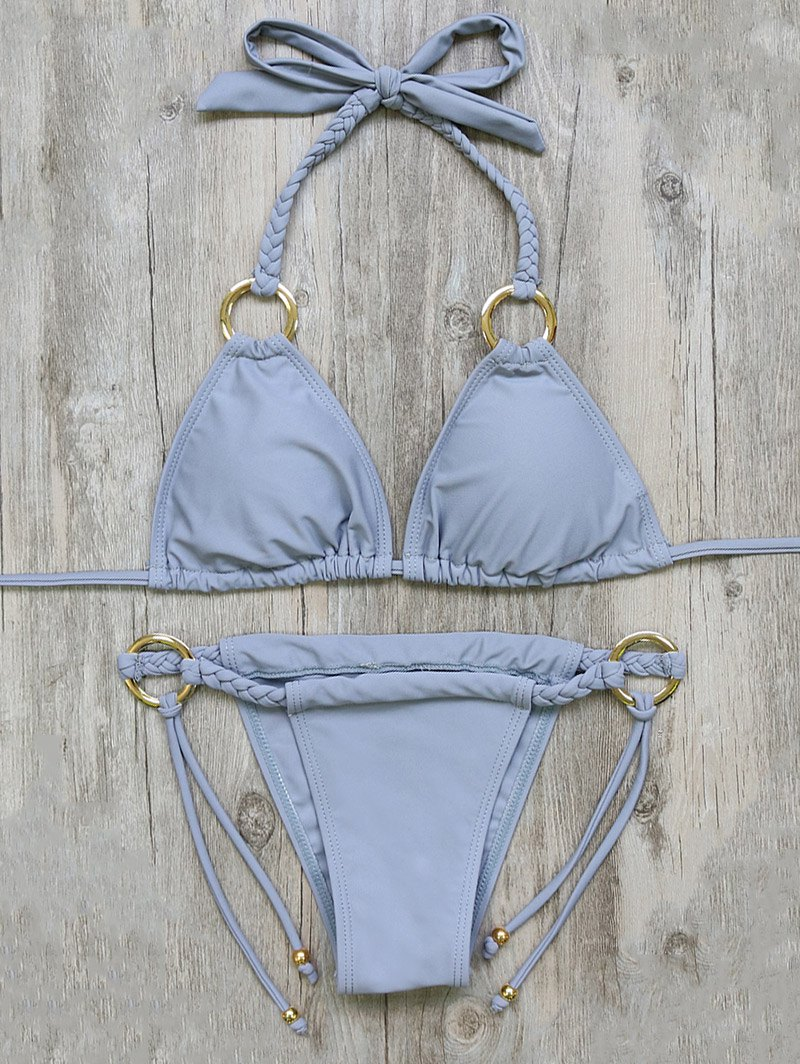 Braided Padded Bikini Set