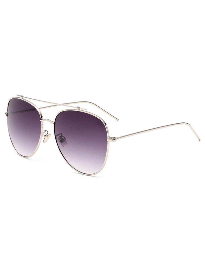 Crossbar Pilot SunglassesAccessories<br><br><br>Color: SILVER