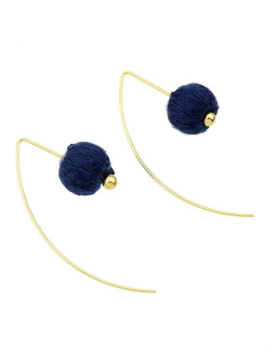 Lantern Drop Earrings - BLUE  Mobile