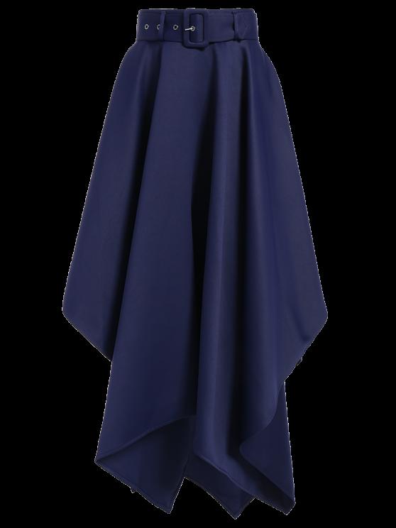 Hanky Hem Jupe longue - Bleu Foncé L
