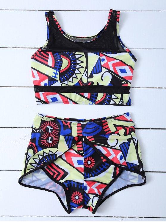 Impreso Corto Bikini - Multicolor S