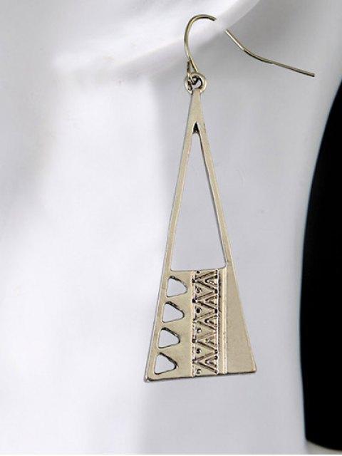 best Vintage Triangle Drop Earrings -   Mobile
