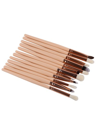 Goat Hair Eye Makeup Brushes Set - COMPLEXION  Mobile