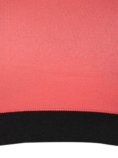 Seamless Cotton Pullover Sports Bra - ORANGEPINK XL Mobile