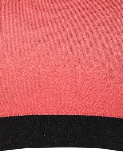 Seamless Cotton Pullover Sports Bra - ORANGEPINK L Mobile