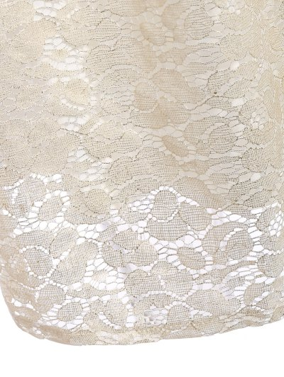 Floral Lace Skirt - PALOMINO L Mobile