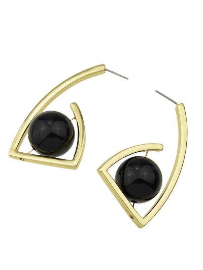 Geometric Ball Vintage Earrings - GOLDEN  Mobile