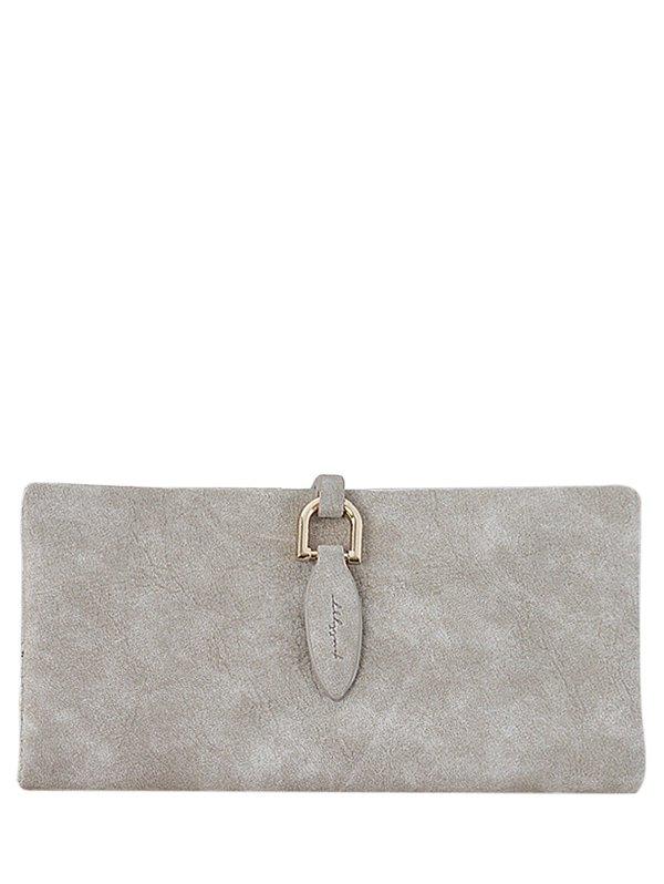Faux Leather Clutch Wallet