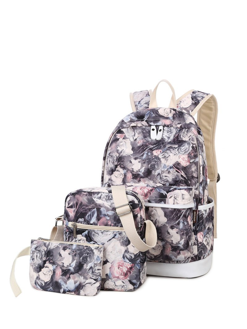 Painted Backpack Set