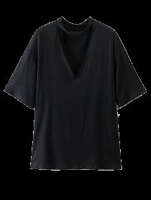 Choker Drop Shoulder T-Shirt