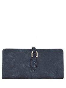 Metal Embellished Bi Fold Clutch Wallet