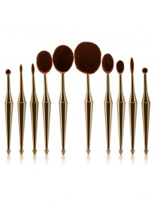 Mermaid Shape Makeup Brushes Set