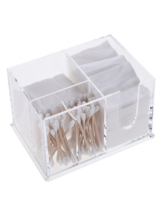 online Desktop Makeup Organizer - TRANSPARENT