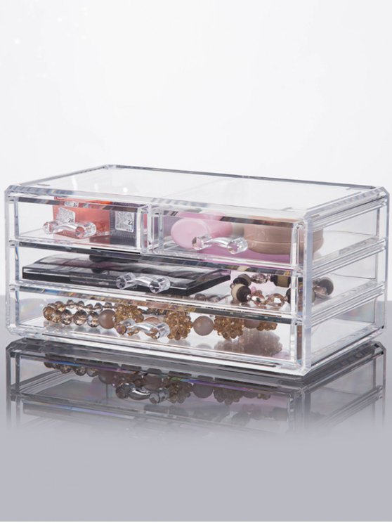 hot Drawer Jewelry Box - TRANSPARENT