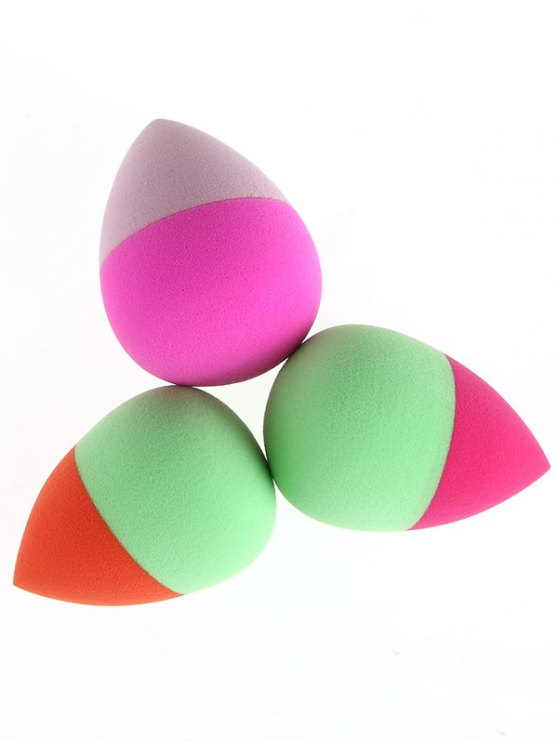 3 Pcs Water Swellable Beauty Blenders - COLORMIX  Mobile