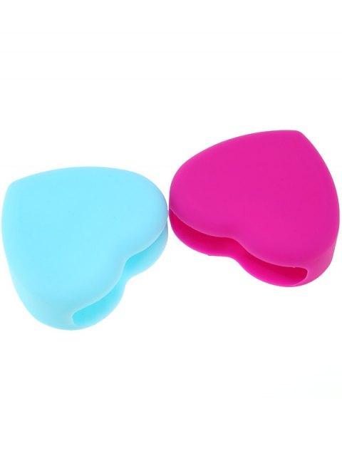 chic 2 Pcs Heart Shape Brush Eggs - COLORMIX  Mobile