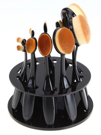 Brush Holder Makeup Brush Stand - BLACK  Mobile
